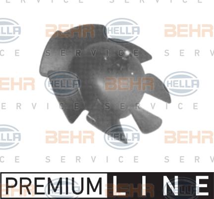 Chauffage et climatisation HELLA 8EW 009 160-351 (X1)