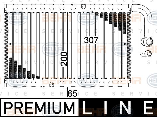 Evaporateur HELLA 8FV 351 003-521 (X1)