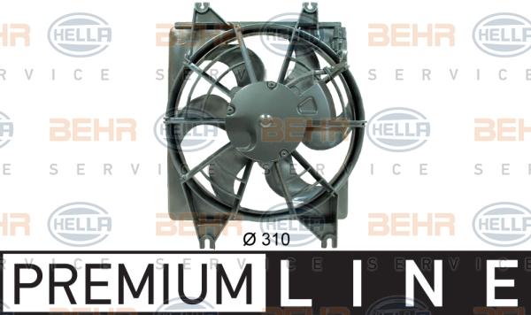 Ventilateur de condenseur HELLA 8EW 351 034-521 (X1)