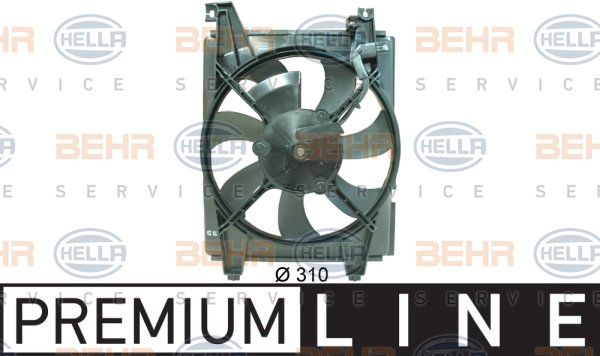 Ventilateur de condenseur HELLA 8EW 351 034-551 (X1)