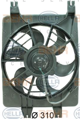 Ventilateur de condenseur HELLA 8EW 351 034-561 (X1)