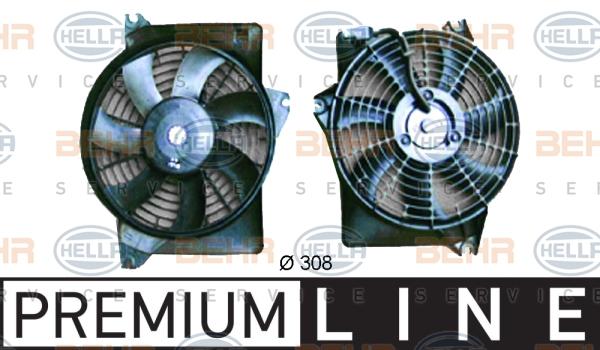 Ventilateur de condenseur HELLA 8EW 351 034-591 (X1)