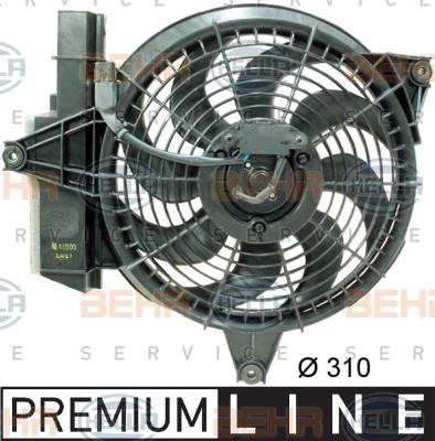 Ventilateur de condenseur HELLA 8EW 351 034-601 (X1)