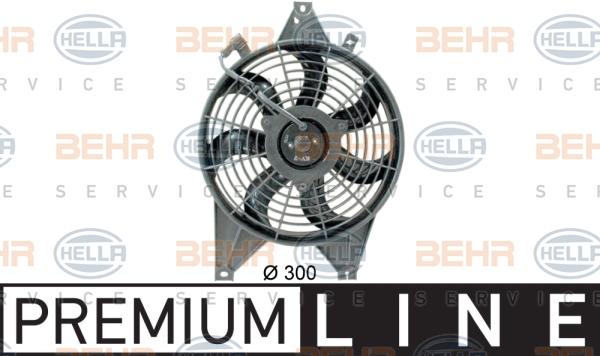 Ventilateur de condenseur HELLA 8EW 351 034-631 (X1)