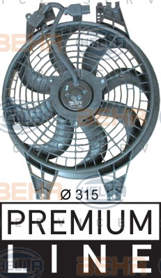 Ventilateur de condenseur HELLA 8EW 351 034-641 (X1)
