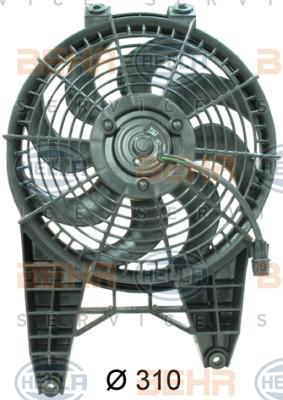 Ventilateur de condenseur HELLA 8EW 351 034-731 (X1)