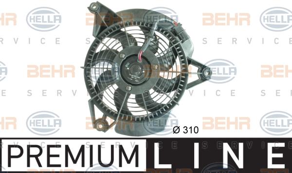 Ventilateur de condenseur HELLA 8EW 351 034-741 (X1)