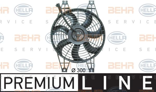 Ventilateur de condenseur HELLA 8EW 351 034-761 (X1)
