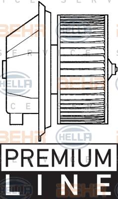 Chauffage et climatisation HELLA 8EW 351 039-351 (X1)