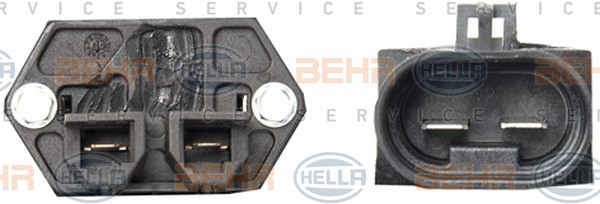 Ventilateur de radiateur HELLA 8EW 351 039-641 (X1)