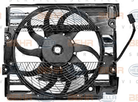 Ventilateur de condenseur HELLA 8EW 351 040-111 (X1)