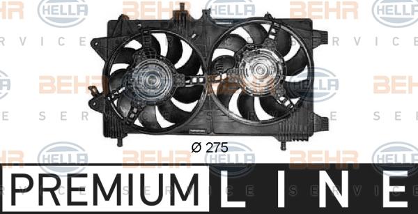 Ventilateur de radiateur HELLA 8EW 351 042-601 (X1)