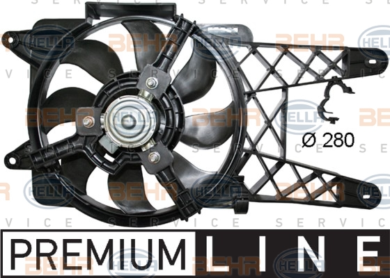 Ventilateur de radiateur HELLA 8EW 351 044-091 (X1)