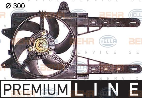 Ventilateur de radiateur HELLA 8EW 351 044-141 (X1)