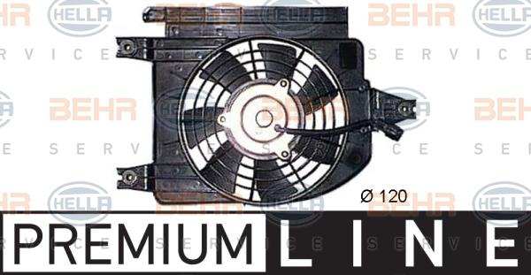 Ventilateur de condenseur HELLA 8EW 351 044-381 (X1)