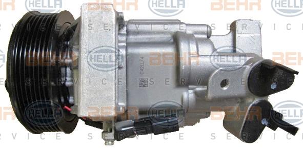 Compresseur HELLA 8FK 351 106-291 (X1)