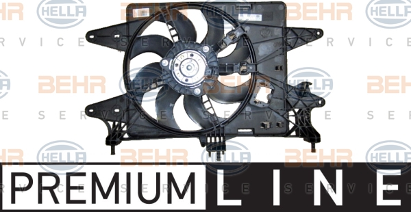 Ventilateur de radiateur HELLA 8EW 351 149-191 (X1)