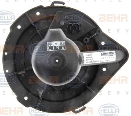 Chauffage et climatisation HELLA 8EW 351 149-521 (X1)
