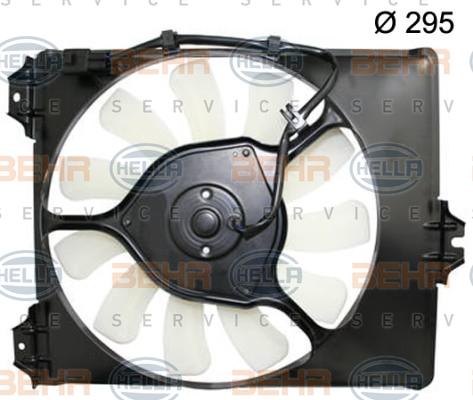 Ventilateur de radiateur HELLA 8EW 351 150-314 (X1)