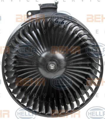 Chauffage et climatisation HELLA 8EW 351 150-731 (X1)