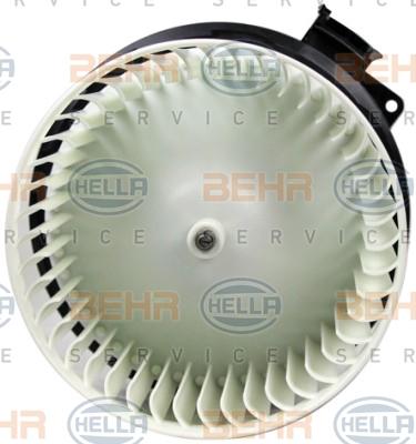 Chauffage et climatisation HELLA 8EW 351 150-741 (X1)