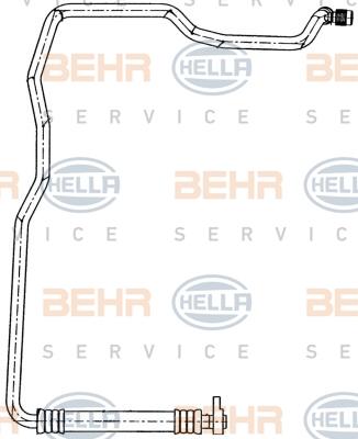 Tuyau de climatisation HELLA 9GS 351 191-391 (X1)
