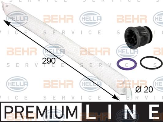 Bouteille deshydratante HELLA 8FT 351 193-281 (X1)