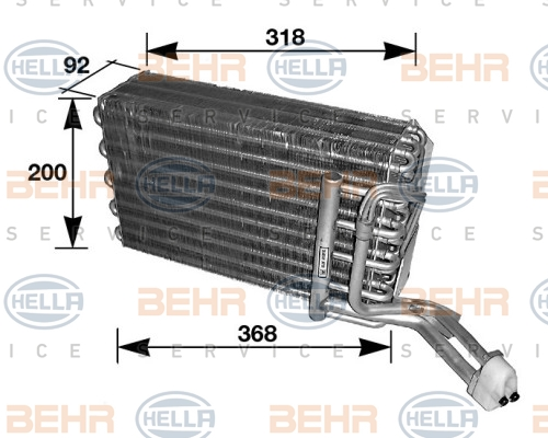 Evaporateur HELLA 8FV 351 210-081 (X1)