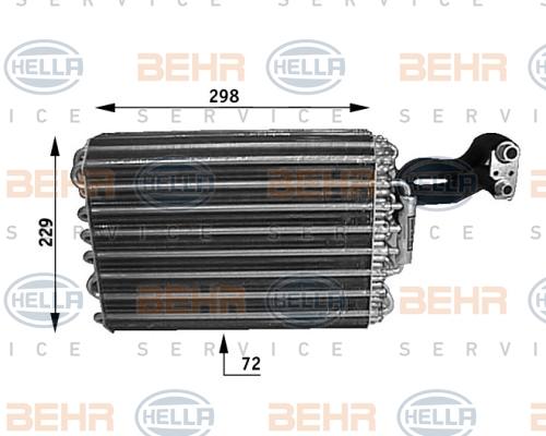 Evaporateur HELLA 8FV 351 210-091 (X1)