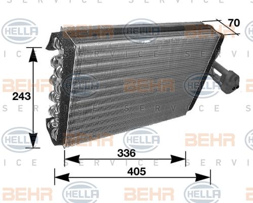 Evaporateur HELLA 8FV 351 210-281 (X1)