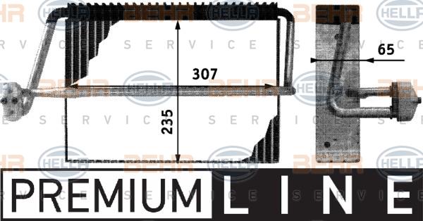 Evaporateur HELLA 8FV 351 210-701 (X1)