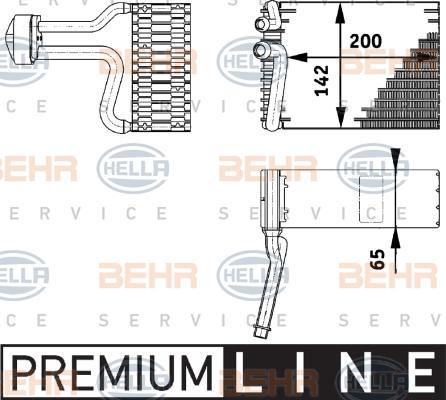 Evaporateur HELLA 8FV 351 211-751 (X1)