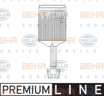 Servo moteur de ventilateur de chauffage HELLA 5HL 351 321-281 (X1)