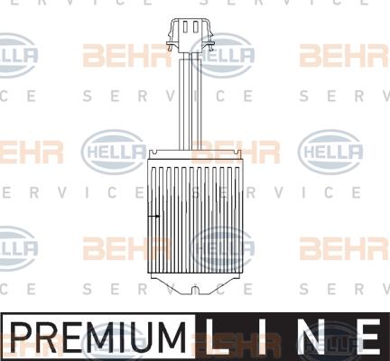 Servo moteur de ventilateur de chauffage HELLA 5HL 351 321-291 (X1)
