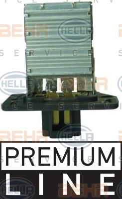 Resistance moteur de ventilateur de chauffage HELLA 9ML 351 321-371 (X1)