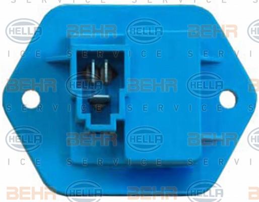 Servo moteur de ventilateur de chauffage HELLA 5HL 351 321-391 (X1)