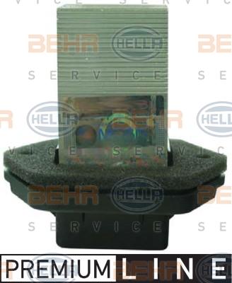 Servo moteur de ventilateur de chauffage HELLA 5HL 351 321-411 (X1)