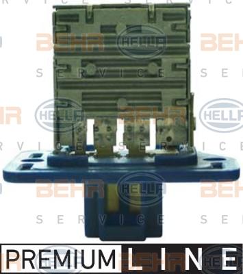 Resistance moteur de ventilateur de chauffage HELLA 9ML 351 321-461 (X1)