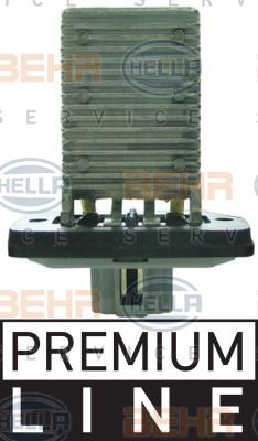Resistance moteur de ventilateur de chauffage HELLA 9ML 351 321-471 (X1)