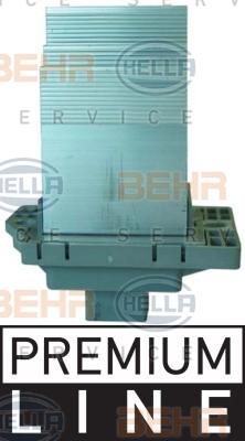 Servo moteur de ventilateur de chauffage HELLA 5HL 351 321-481 (X1)