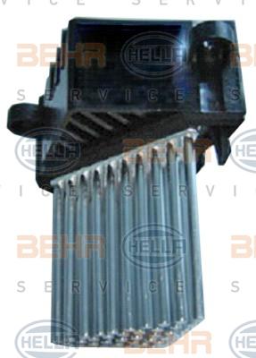 Servo moteur de ventilateur de chauffage HELLA 5HL 351 321-511 (X1)