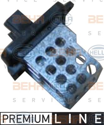 Resistance moteur de ventilateur de chauffage HELLA 9ML 351 321-581 (X1)