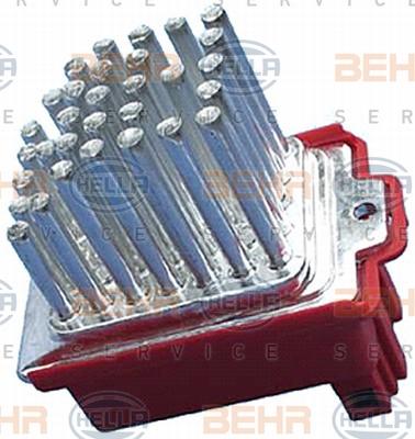 Servo moteur de ventilateur de chauffage HELLA 5HL 351 321-591 (X1)