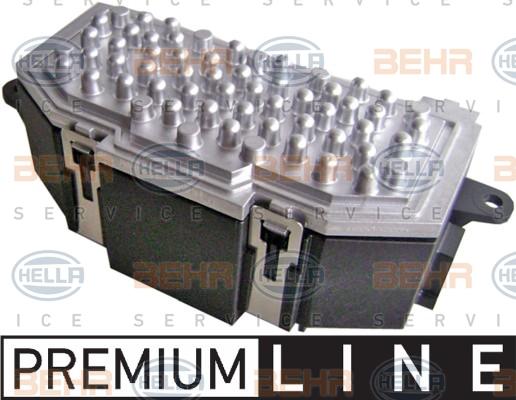 Servo moteur de ventilateur de chauffage HELLA 5HL 351 321-681 (X1)