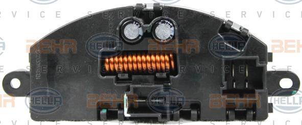 Servo moteur de ventilateur de chauffage HELLA 5HL 351 321-751 (X1)
