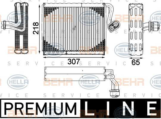 Evaporateur HELLA 8FV 351 331-481 (X1)