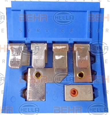Resistance moteur de ventilateur de chauffage HELLA 9ML 351 332-131 (X1)