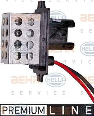Resistance moteur de ventilateur de chauffage HELLA 9ML 351 332-181 (X1)