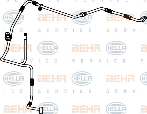 Flexible de climatisation HELLA 9GS 351 337-101 (X1)