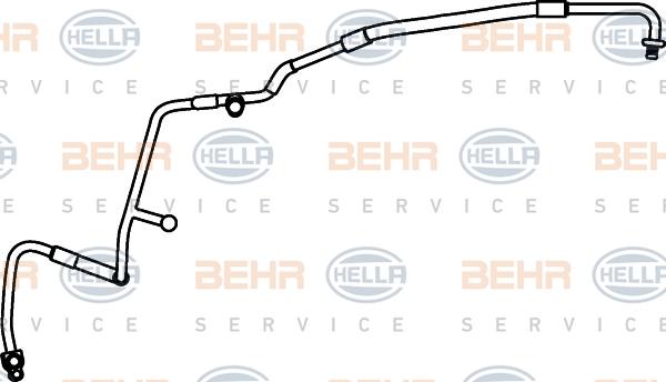 Flexible de climatisation HELLA 9GS 351 337-201 (X1)